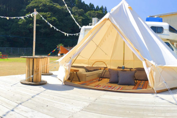 うしおのもりキャンプ場