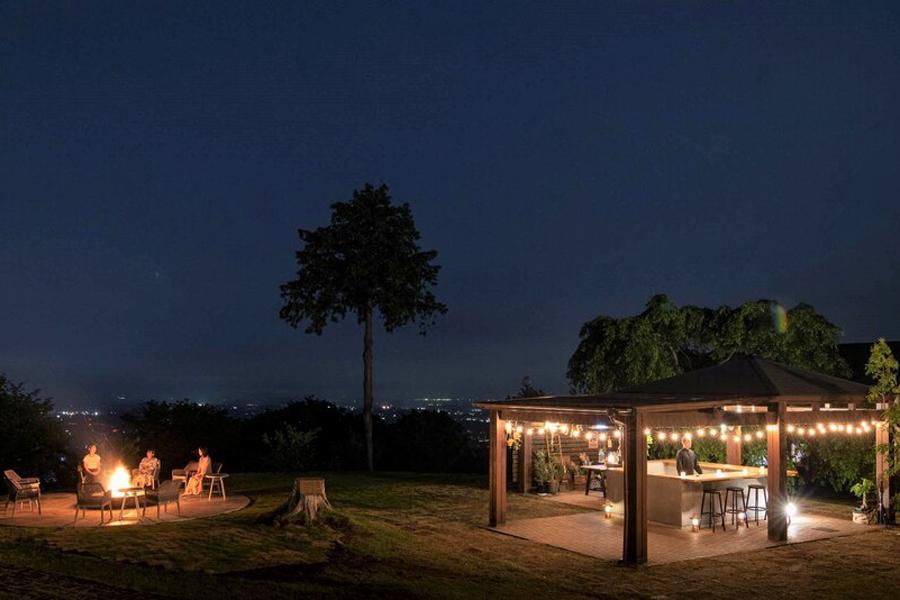 空に近い森のアウトドアリゾート「ETOWA KASAMA」の写真3枚目