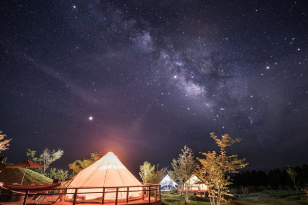 くじゅう花公園 camping resort 花と星