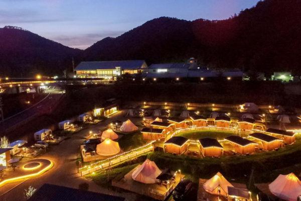 GRAX PREMIUM CAMP RESORT 京都 るり渓
