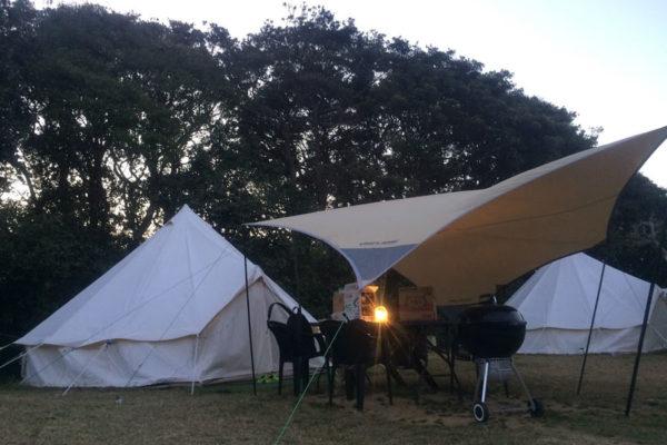 観光農園キャンプ