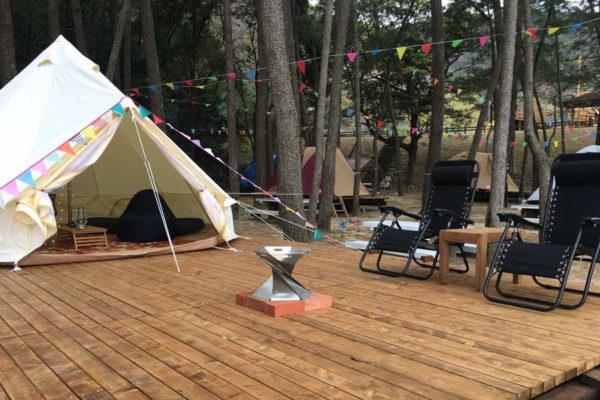 浜木綿の村 海辺のキャンプ場「ソレイユ・ルヴァン」